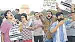 हाथरस कांड पर दिल्ली एनसीआर में उबाल, इंडिया गेट पर हिरासत में लिए गए प्रदर्शनकारी