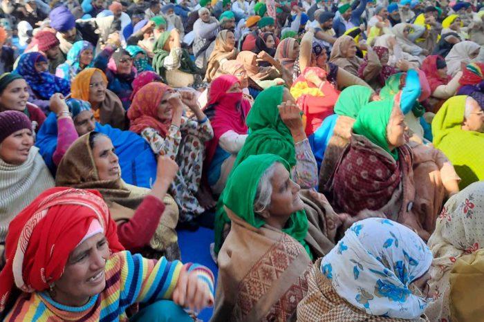 Farmers rights are human rights: Protesters at Tikri Kalan