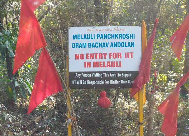 Goa police tear-gas, lathi-charge Melauli Adivasis
