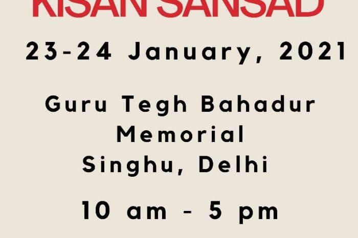 Activists call for Kisan Sansad on Jan 23-24
