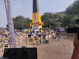 COVID-19 Dampens Jan 1 Celebration at Bhima Koregaon, Few Hundreds Attend with Limited Passes