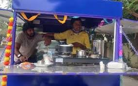 Undeterred by COVID-19 losses, transgender person starts mobile tea shop in Chennai