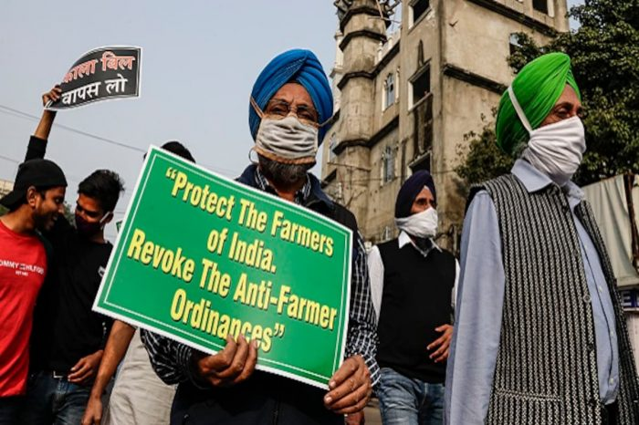 International organisations support Indians farmers: NYT carries full page declaration