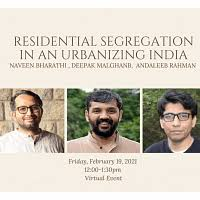 Residential Segregation in India: A growing problem