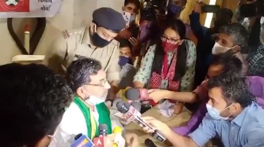 'Anti-constitutional, high handed': NAPM on Gujarat farm leaders' arrest at press meet