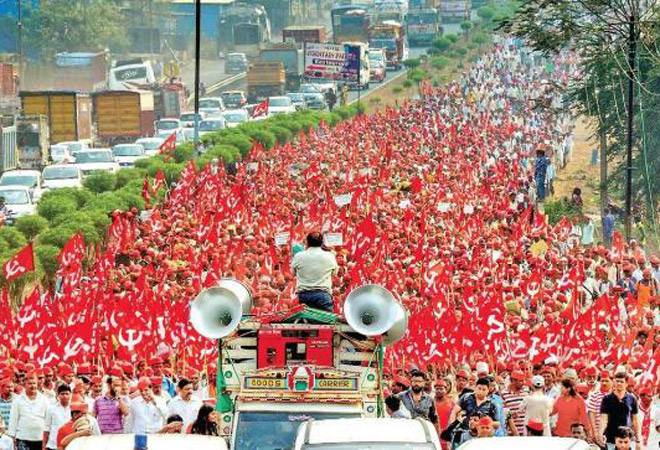 AIKS celebrates third anniversary of Kisan Long March