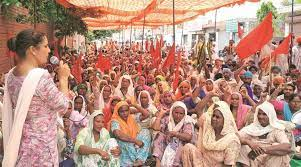 Punjab dalits protest for increase in lease period of village common land to 33 years