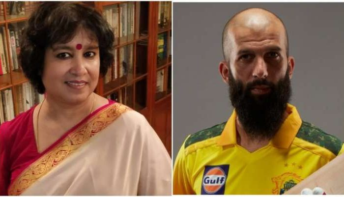 England cricketers, sports fans clean bowl Taslima Nasreen's xenophobic comments on Moeen Ali
