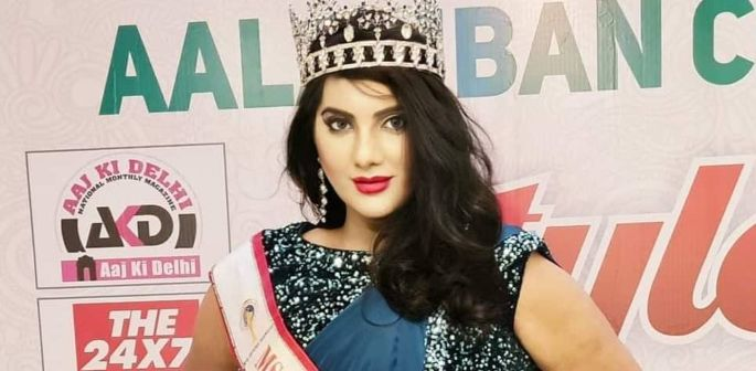 India's 1st Transgender Pageant Winner advocates for Equality