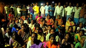 Dalits stage protest