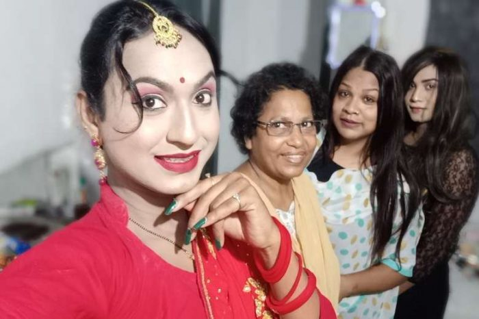 A passionate mother of transgender people in India