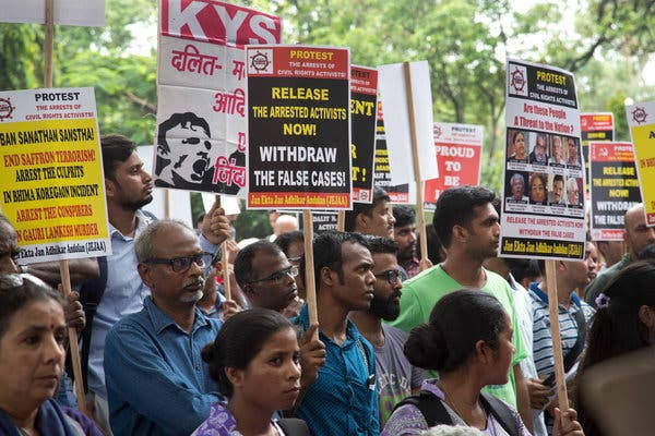 They suffer today in jail because they believed in the 'idea of India, in the Constitution'