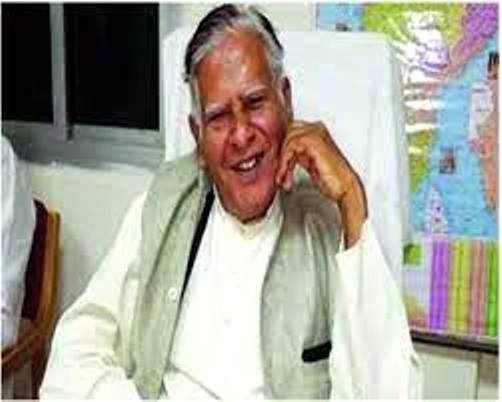 Baghel's father held for anti-Brahmin remarks