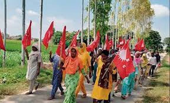 Dalits take possession of land in Sangrur