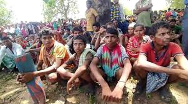 Protests break out as school going children 'branded Naxalites, taken prisoners'