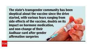 Goa: After months of hesitancy, transgenders warm up to jab