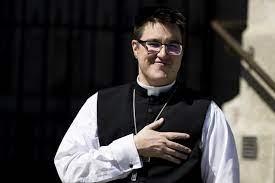 Evangelical Lutheran church installs 1st transgender bishop