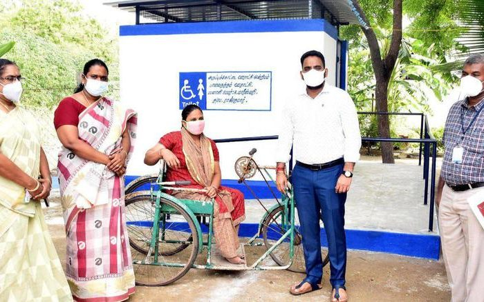 TN Collector Launches 'Udhayam' Initiative, Builds Accessible Toilets For Specially-abled